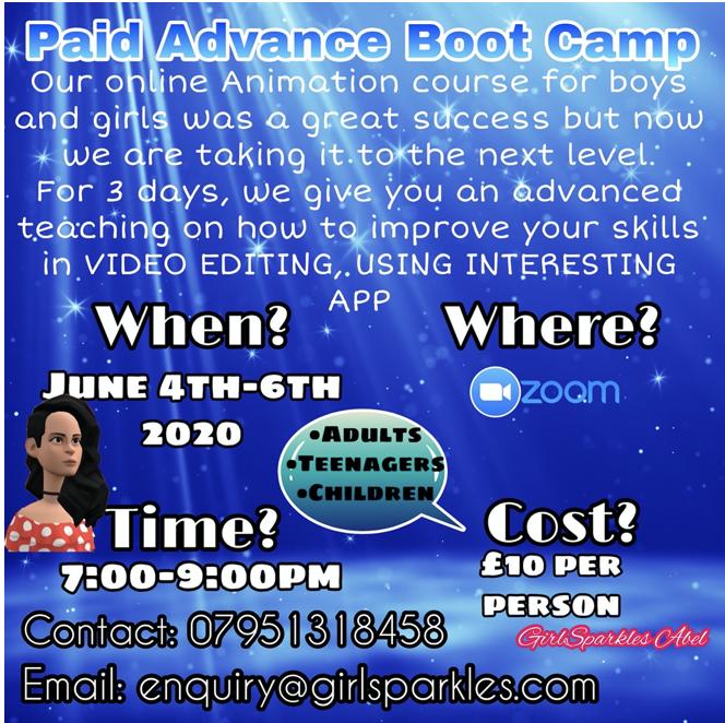 Paid Advance Bootcamp